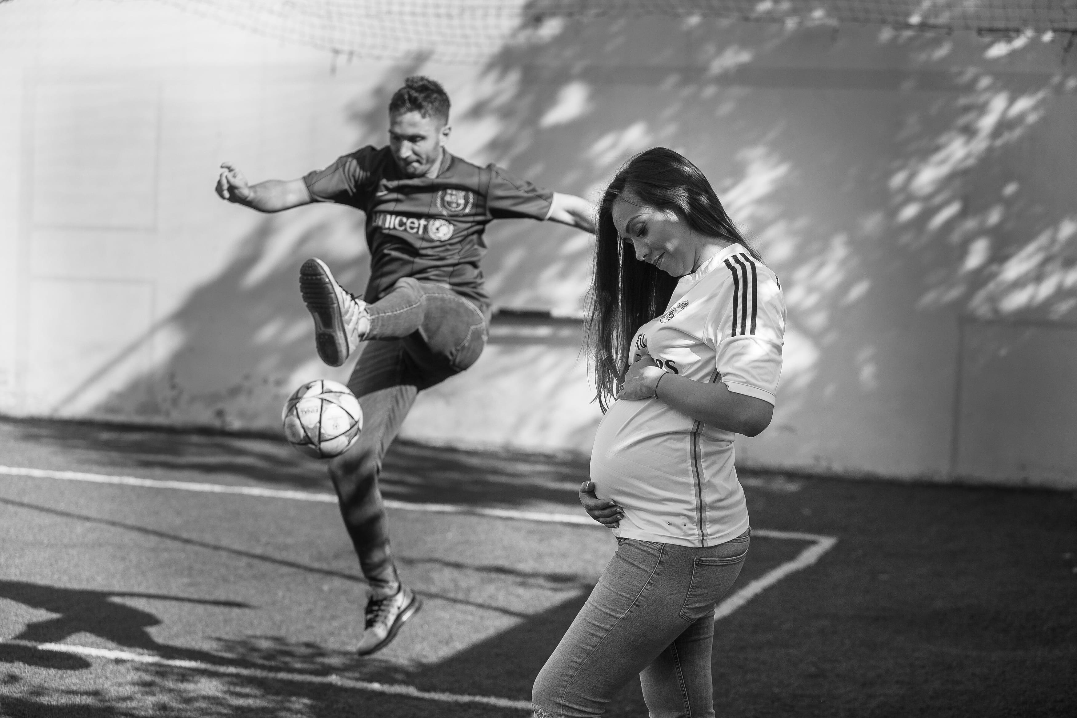Fotograf fuer ein Schwangerschaftsshooting in Berlin