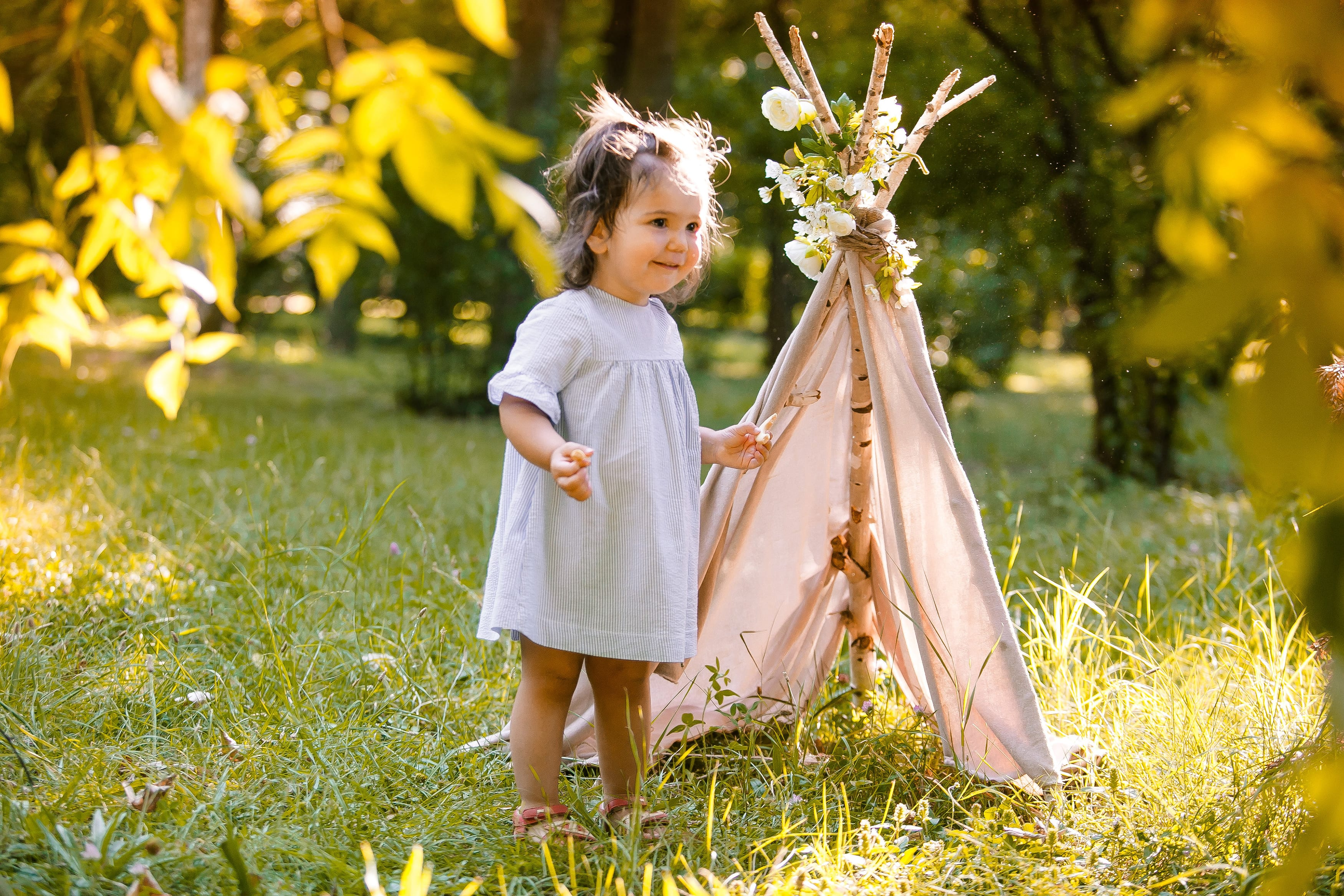 Kinderfotoshooting Outdoor