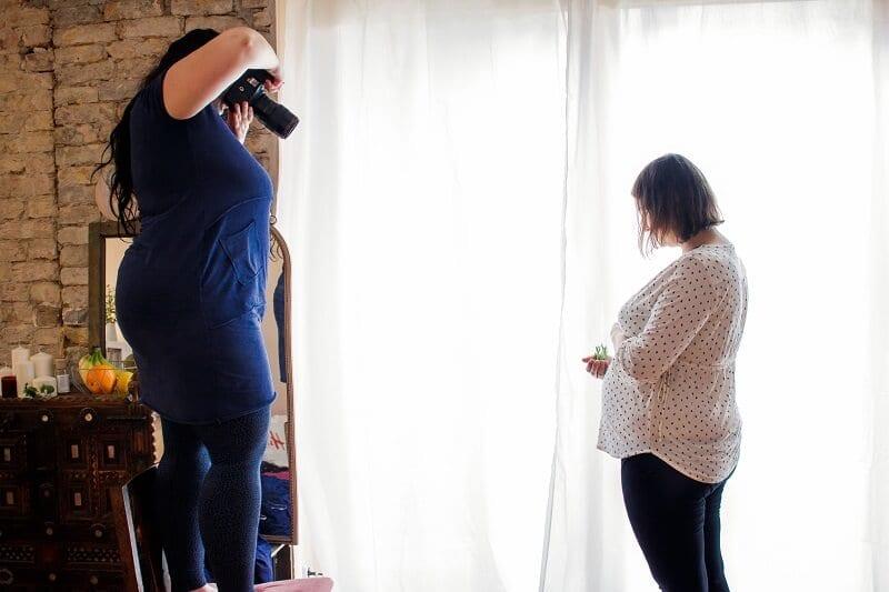 Ueber Donna Bellini wie ist ein Fotoshooting