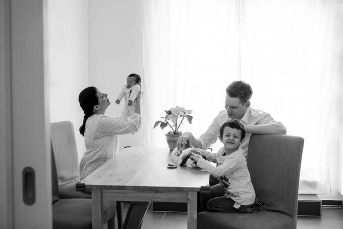 Familie bild