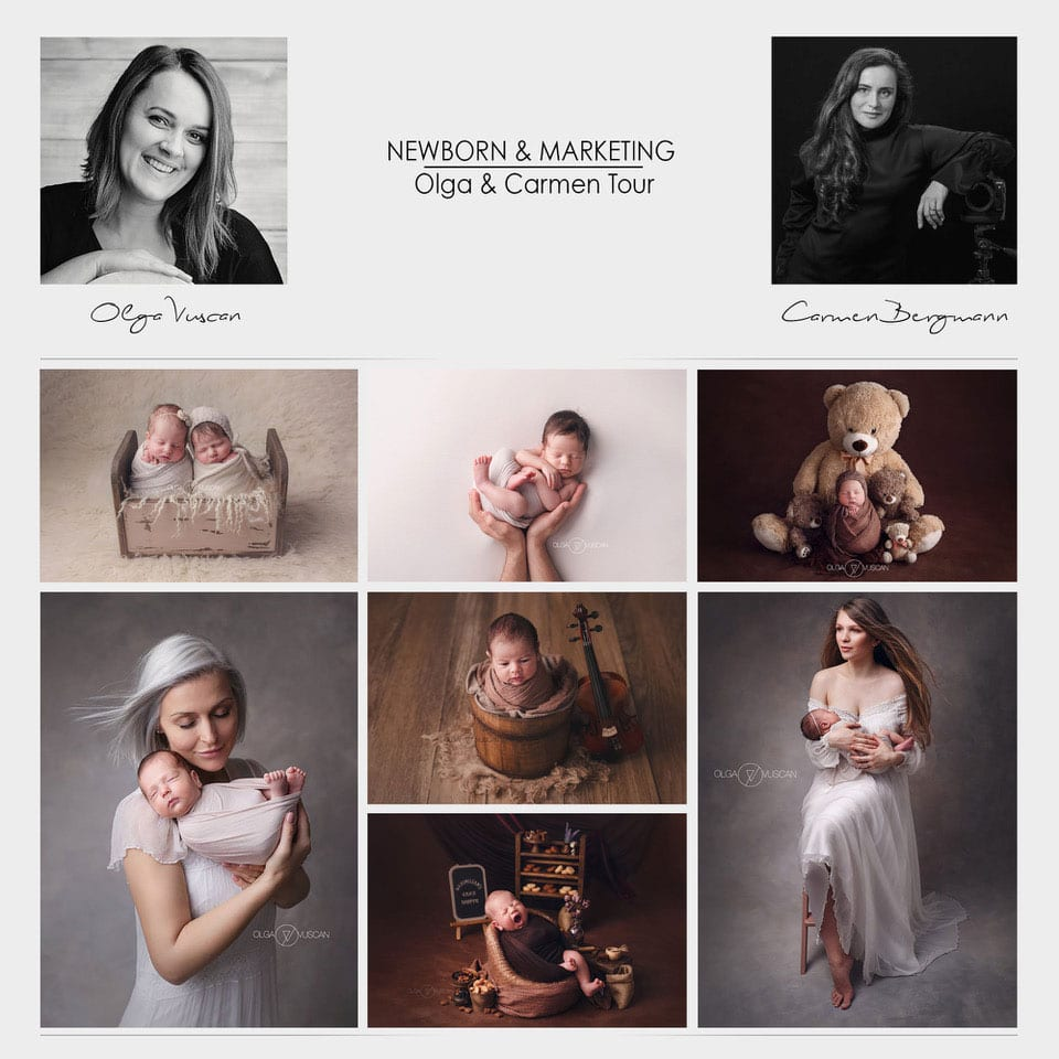 Olga-Vuscan-und-Carmen-Bergman-Babybauch-Neugeborenen-Fotografie-Tour