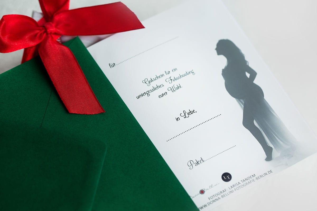 Detail Voucher fuer Fotoshooting zu Weihnachten fuer die ganze Familie